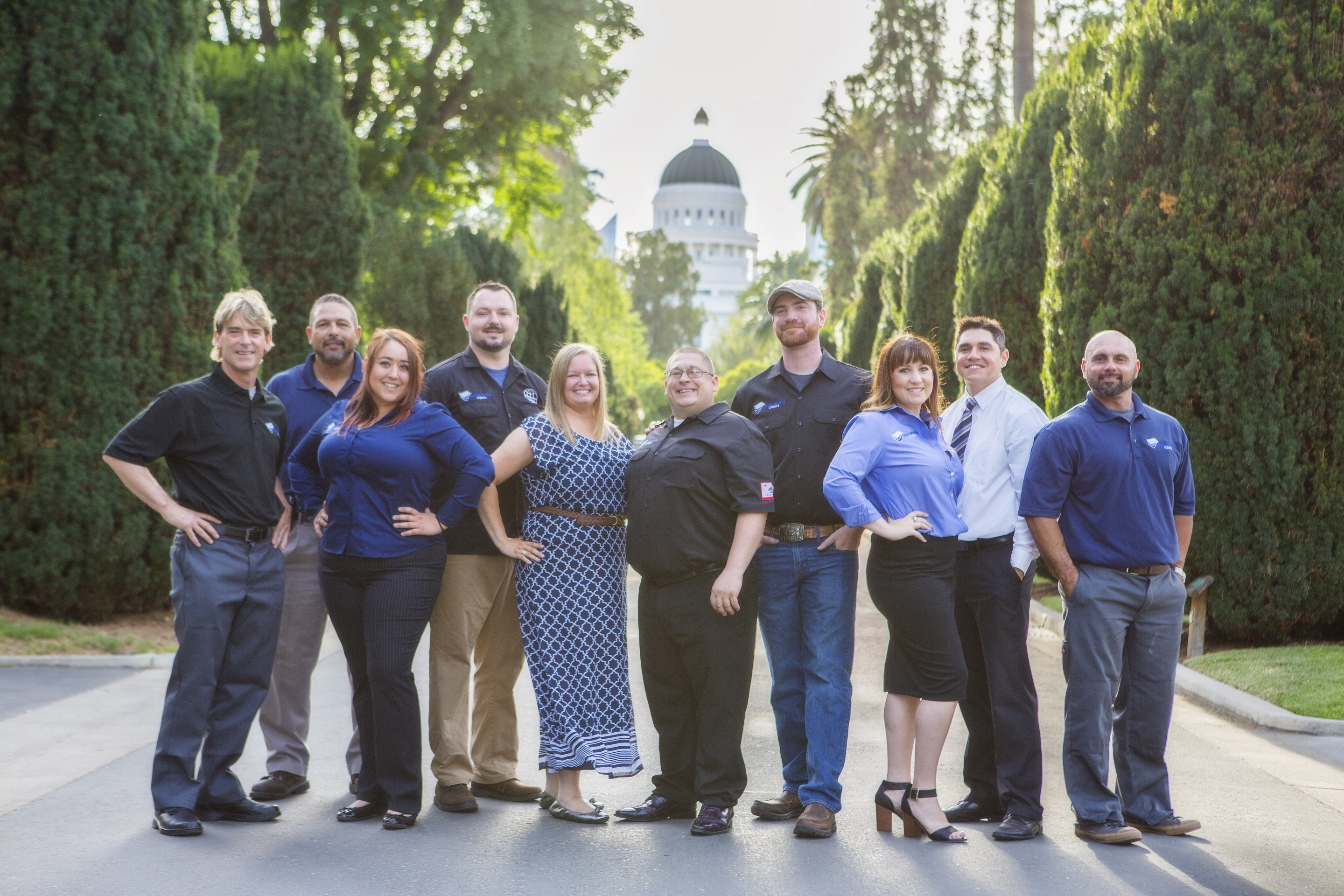 Sacramento Copiers Team Photo